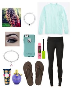 """""""2 weeks tell Halloween and school dance!"""" by softball1218 ❤ liked on Polyvore featuring adidas, Vineyard Vines, Rainbow Sandals, Maybelline and Lilly Pulitzer"""