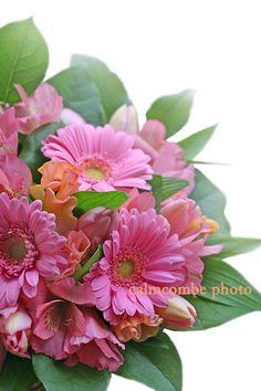 flower arrangement---花屋が作って撮った花の写真---ピンクのフラワーアレンジメント