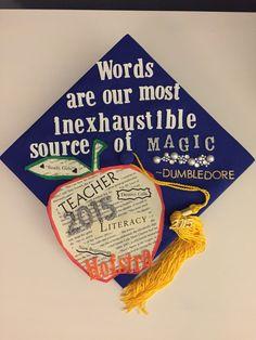 Harry Potter Quote Graduation cap