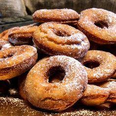 Odchudzone pelnoziarniste oponki Bagel, Doughnut, Donuts, Bread, Desserts, Food, Frost Donuts, Tailgate Desserts, Deserts