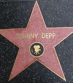 Hollywood Boulevard, l'étoile de Johnny Depp. Crédits photo : Loren Javier (Flickr)