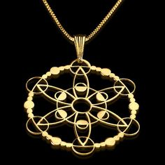 The intricately designed crop circle necklaces look beautiful and add a unique sense of style to your outfits. See the full collection - made from sterling silver Buy Now! Crop Circles, Circle Necklace, Personalized Necklace, Custom Jewelry, Jewelry Design, Pendants, Sterling Silver, Sacred Geometry, Piercings