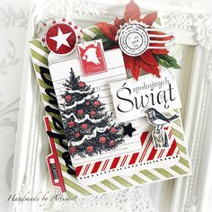 Good morning everybody, My next Christmas cards bundle is all about - RED - - GREEN - - BLACK - I had so much fun making . Halloween Christmas, Christmas Tag, Christmas Themes, Holiday Crafts, Holiday Decor, Beautiful Christmas Cards, Four Seasons, Red Green, Gift Wrapping