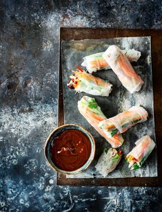 Fresh, vibrant and ready in 25 minutes, these Vietnamese rolls are a quick and healthy summer entertaining idea