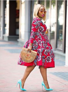 If yes, try some of the latest Ankara styles we have lined up for you today. They are sexy, sassy and look absolutely gorgeous. Amazing is the world of Ankara fashion with the rate at which new styles are coming in vogue. In 2017 only Latest Ankara Dresses, Ankara Dress Styles, Kente Styles, African Print Dresses, African Fashion Dresses, African Attire, African Wear, African Dress, Fashion Outfits
