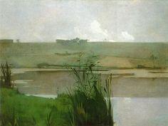 John Henry Twachtman (1853-1902)  Arques-la-Bataille  Metropolitan Museum of Art