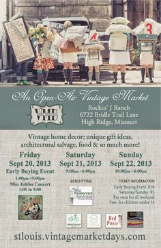 Picked & Painted: Vintage Market Days: St. Louis