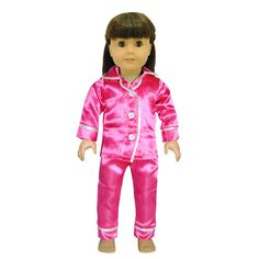 - Beautiful Pijama Set. - Fits all American Girl dolls and Madame Alexander 18'' inch Dolls. - Unique designs. - Shoes and Doll not included