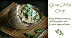 Sandra's Easy Cooking: Thai Green Chicken Curry