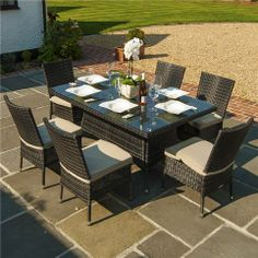 Gartenmöbel-sets  The Chloe Curved Rattan bistro Set, Available in a range of ...