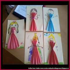 Dollar Store Crafter: Paper Doll Princesses ~ Kids Crafts