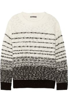 Shop on-sale Vince Wool-blend sweater. Browse other discount designer Knitwear & more on The Most Fashionable Fashion Outlet, THE OUTNET.COM