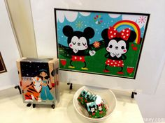Michelle Romo art---would love to decorate a space with this art from Wonderground in Downtown Disney