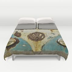 VW Rusty Duvet Cover by Alice Gosling - $99.00