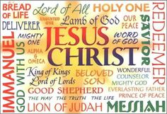 jesus christ wonderful counselor the prince of peace the everlasting father the mighty god   Jesus, Christ, and others