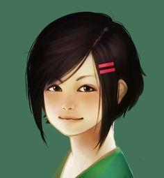 Erraday - original character the girl