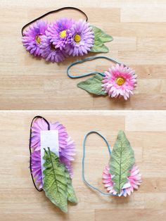 How To Make Your Own Faux Flower Accessories