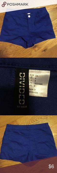 H&m shorts H&m shorts size 4 never worn H&M Shorts
