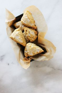 Triple Vanilla Bean Scones