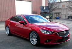 Mazda 6 on MiRO TYPE 110 wheels. 19x10 ET40