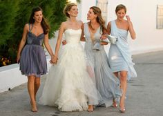 Vogues Events Editor Pheobe Papadopoulos was married in Greece and wore Vera Wang