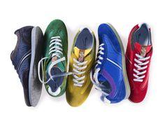 Farbenfrohe Sneaker von Floris van Bommel
