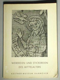 Book Medieval Weaving Embroidery European Byzantine Textile ART German Silk | eBay