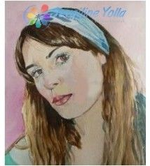 Kişiye Özel Renkli Portre - 25 x 35 cm