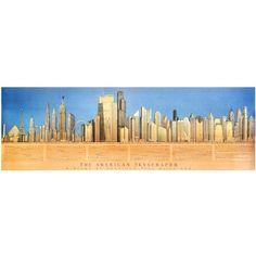 American Skyscrapers Poster