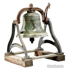 Antique Bell | Silver, Pewter, Brass, Copper, Chrome & Other Metals Price Guide | Antiques & Collectibles Price Guide | Kovels.com
