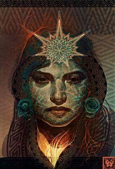 Digital Artwork by Andrew Jones | Cuded