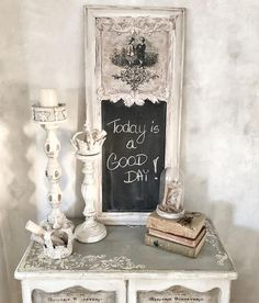 """This chalkboard is so sweet! Our home decor team member @catarzynahomelifestyle used the new [re]design transfer """"Children"""" on the top with…"""