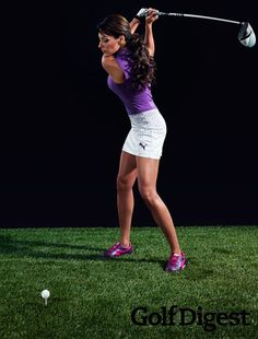 "Ever since Golf Channel's ""Morning Drive"" program debuted in January 2011, it seems like that question has been asked again and again. Holly Sonders, 26, formerly Holly Niederkohr (Sonders is a stage name), was an accomplished college golfer who shelved her driver for a microphone after graduating from Michigan State in 2009. She has since become one of golf's most recognizable television personalities. You might have caught her on one of the network's programs or perhaps been impressed with…"
