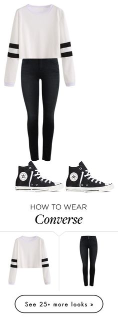 """""""Untitled #483"""" by brain-cosand on Polyvore featuring Converse"""
