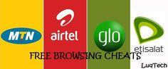 9mobile, MTN, Glo, Airtel Free Browsing Cheats