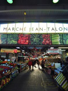 Marche Jean-Talon - Montreal