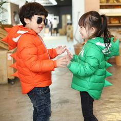 Tyrannosaurus Winter Jackets Girls&Boys