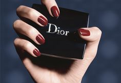 Sasha Luss is Red-Hot for Dior Cosmetics' Fall 2014 Campaign – cosmeticgirl Cute Nail Art, Cute Nails, Opi, Makeup Ads, Dior Beauty, Latest Makeup, Beauty Shoot, Tumblr, Summer Beauty