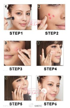vintagemermaid.com    contouring makeup