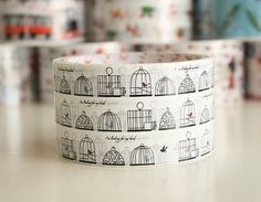 Mom!  Find this Birdcage tape to sell at Dilly Dally!