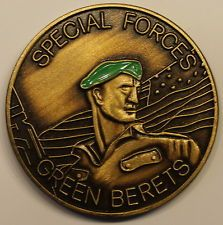 Green Beret Special Forces Army Challenge Coin