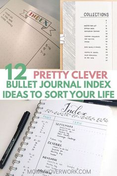 Keep tabs on your life with these BULLET JOURNAL INDEX IDEAS. Clever hacks to organize your bujo pages effortlessly, from page edge marks to highlighting. Bullet Journal Adhd, Bullet Journal Index Layout, Bullet Journal Index Page, Organization Bullet Journal, Bullet Journal How To Start A, Bullet Journal Junkies, Bullet Journal Ideas Pages, Bullet Journal Inspiration, Bullet Journals