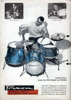 Trixon Drums - Wikipedia, the free encyclopedia-ANOTHER HARD TO FIND TYPE OF DRUM, IN FACT I NEVER HEARD OF THIS KIND BEFORE!