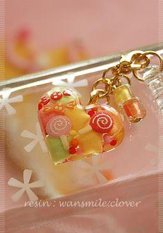 レジン・お砂糖菓子のイヤホンジャック