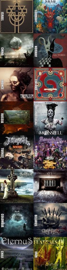 Metal bands from all around the world that you should give a try (Pt. 3)
