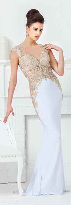 Tony Bowls Long Evening Gown