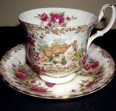 Royal Albert - Four Seasons - Cup and Saucer- Summer