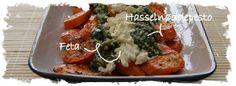 Bagte gulerødder m. nøddepesto