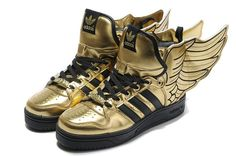 a3ac911ef0331 Buy Buy Jeremy Scott X Adidas Originals JS Wings Gold Black Discount from  Reliable Buy Jeremy Scott X Adidas Originals JS Wings Gold Black Discount  ...