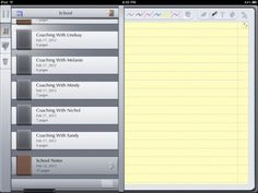 Ipads for instructional coaches - I already use most of these on this list but going to check out GoDocs.
